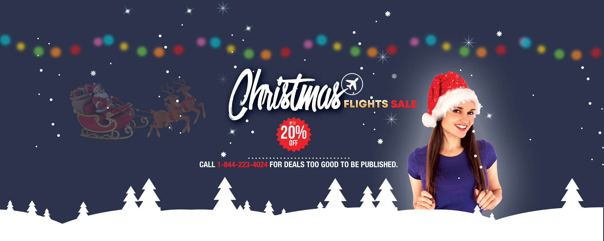 Exclusive christmal special cheap flights deals at traveljunctionus.com and book lowest air flight